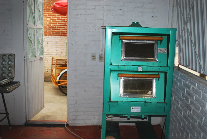 One of the ovens that Angélica purchased with her interest-free loans.