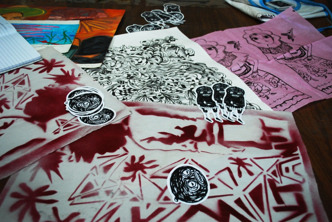 A selection of work by Colectivo Huitlacoche.