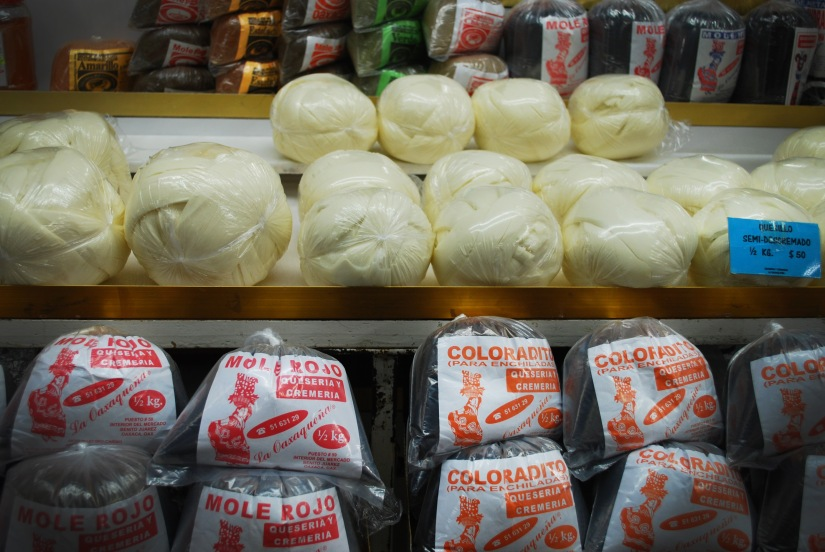 Pre-made mole can also be purchased in the mercados and supermarkets.