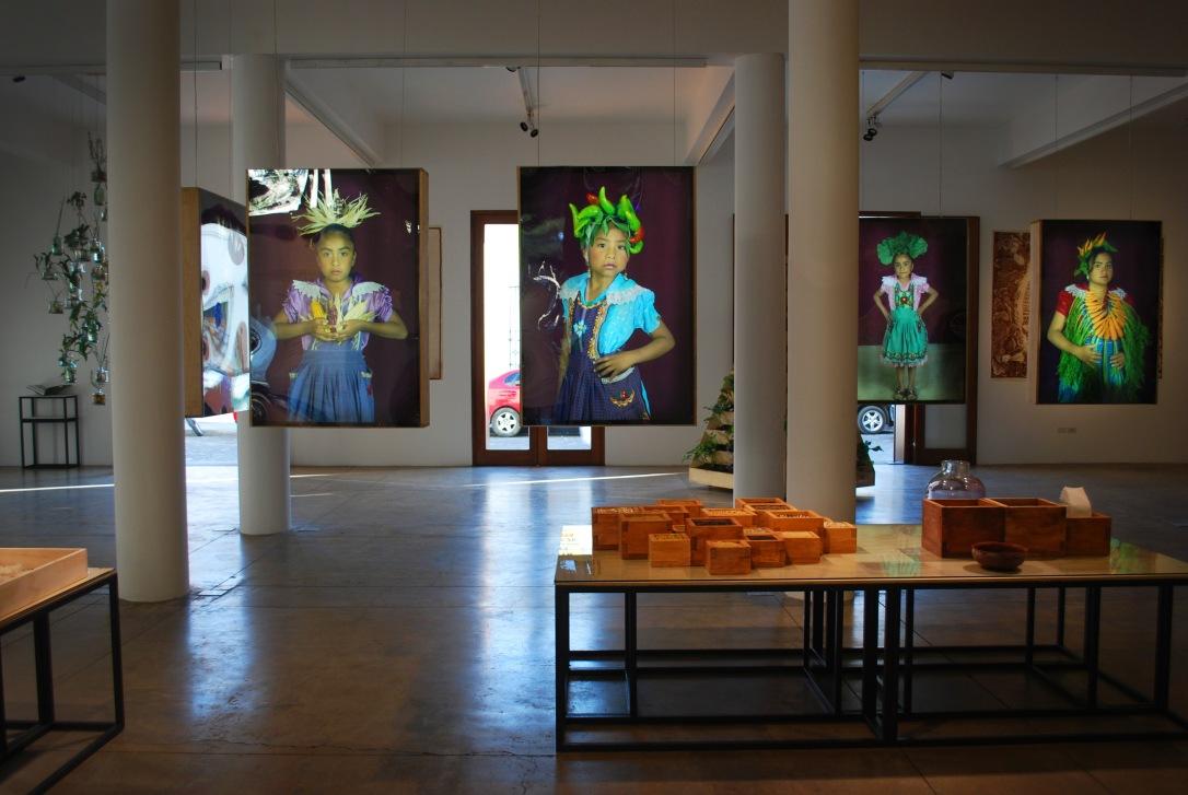 Current exhibition at El Centro Académico y Cultural San Pablo.
