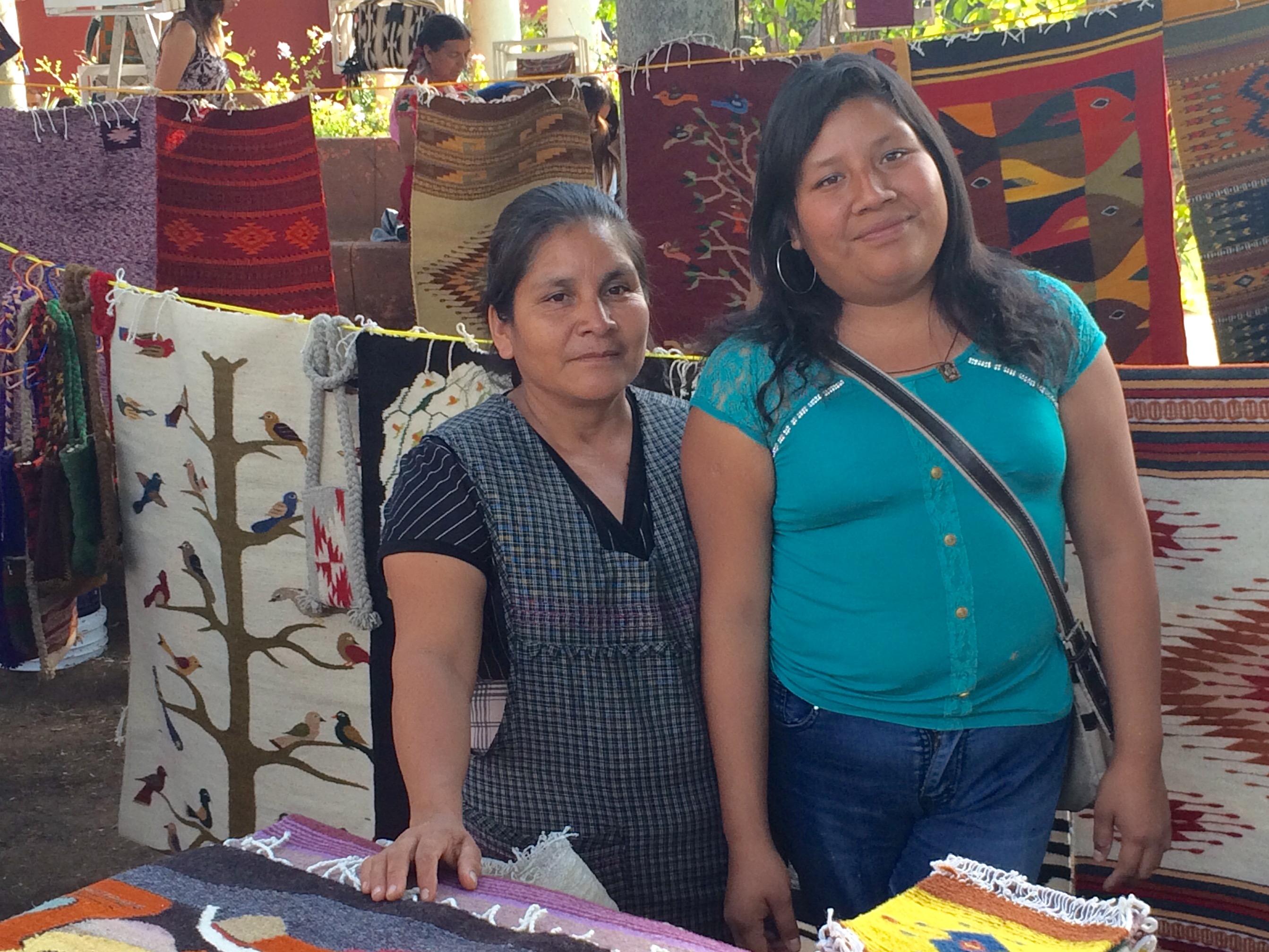 Fundación En Vía annual fair, Oaxaca