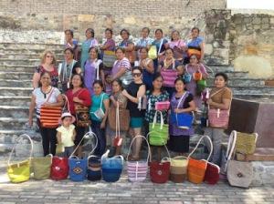 innovative handbags in Teotitlán del Valle